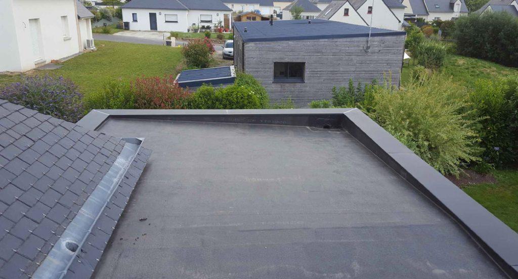 toit terrasse en epdm