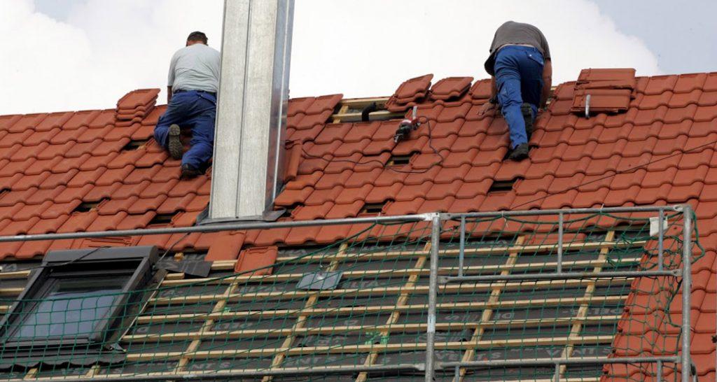 travaux de Rénovation de toiture