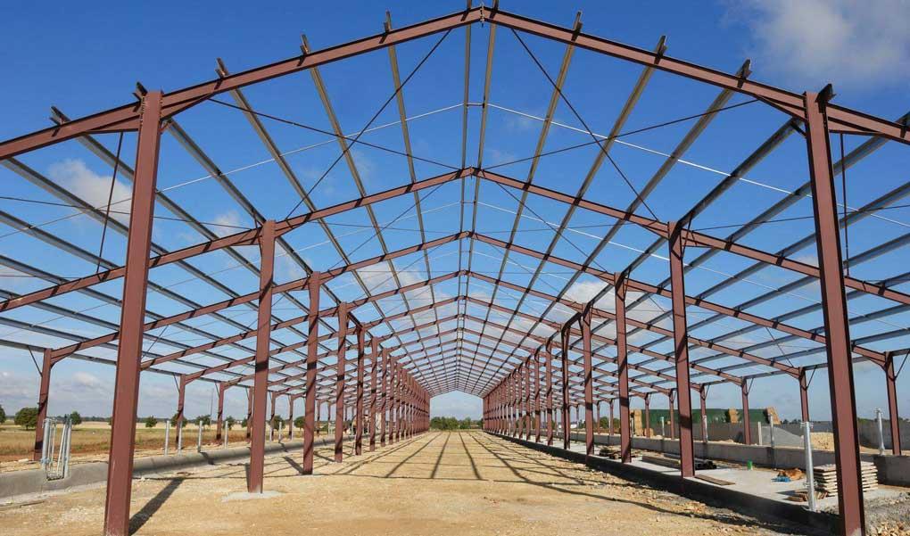 construir Charpente industrielle